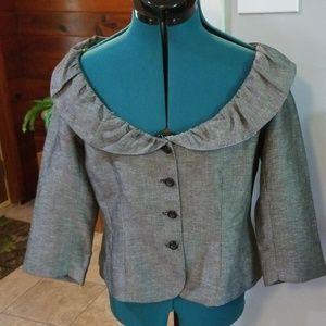 Portrait collar jacket